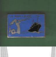 INSIGNE DE MARINE 1939   ---- LA  RAILLEUSE   ----  ARTHUS BERTRAND PARIS DEPOSE  --------------- - Marine