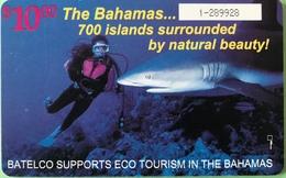 BAHAMAS  -  Phonecard  -  Batelco  - Plongée  -  $ 10 - Bahama's