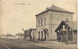HELCHTEREN - Statie (station Gare) Zeldzaam - Houthalen-Helchteren