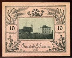 344-Sankt-Laurenz Billets De 10, 20 Et 50h 1920 - Autriche