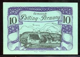 344-Palting-Perwang Billets De 10, 20 Et 50h 1920 - Autriche