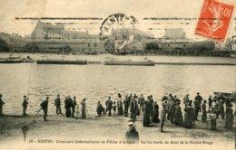 18. NANTES - Concours International Pêche à La Ligne - Sur Les Bords Du Quai De La Maison Rouge - Nantes