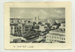 TRIPOLI -  PANORAMA VISTO DALL'UADDAN VIAGGIATA FG - Libya