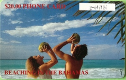 BAHAMAS  -  Phonecard  -  Batelco  - Plage  -  $ 20 - Bahama's