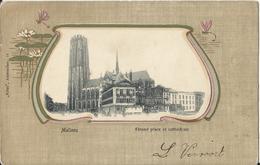 Malines - Grand Place Et Cathédrale  (Mechelen) - Mechelen
