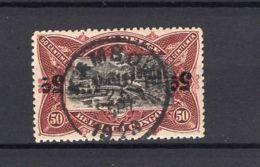 [HS1213] Belgisch Congo  95-Cu - Omgekeerde Opdruk / Surcharge Renversée Gest / Obl / Stamped - 1894-1923 Mols: Used
