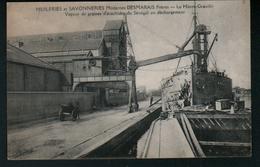 76, Huileries Et Savonneries Modernes Desmarais Freres, Le Havre-Graville, Vue Exterieure, Vapeur De Graines D'arachides - Graville