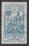 OCEANIE N°28 - Used Stamps