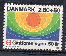 DANEMARK - DENMARK - 1986 - LUTTE CONTRE L'ARTHROSE - FIGHT AGAINST ARTHROSIS - - Nuovi