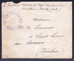 LETTRE AVEC CONTENU * E. GRANDIDIER - CAPORAL INFANTERIE à MAILLY Vers DE CAMARET En VAUCLUSE 14 Juin 1917 - Documents Historiques