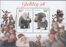 +Iceland 2000. Christmas. Bloc. Michel 28. AFA 954-55. MNH(**) - Blocks & Sheetlets