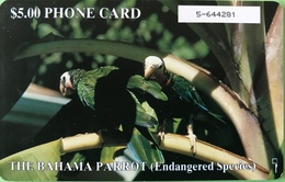 BAHAMAS  -  Phonecard  -  Batelco  - Parrots  -  $ 5 - Bahama's