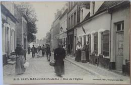 CPA--MARQUISE---RUE DE L'EGLISE. - Marquise