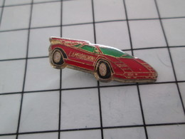 520 Pin's Pins / Beau Et Rare / THEME : AUTOMOBILES / LAMBORGHINI ROUGE - Autres