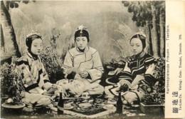 Chine - Tientsin - Kartenspielende Frauen - Femmes Jouant Aux Cartes - Card Playing Women - N° 379 - China