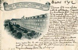SOUVENIR Des NOCES De DIAMANT Du PENSIONNAT SAINT-JOSEPH - 1841 BEL-AIR - NANTES 1901 - Nantes