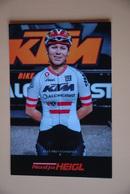 CYCLISME: CYCLISTE : NADJJA HEIGL - Ciclismo
