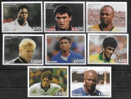 GHANA   N° 2057/64   * *   ( Cote 10e )     Cup 1998  Football   Soccer  Fussball - 1998 – France