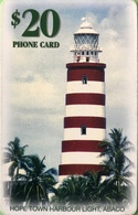 BAHAMAS  -  Phonecard  -  Batelco  - Phare  -  $ 20 - Bahama's