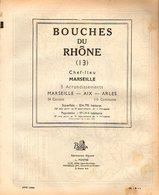 ANNUAIRE - 13 - Département Bouches Du Rhône - Année 1954 - édition Didot-Bottin - 376 Pages - Telephone Directories