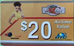 BAHAMAS  -  Prepaid  -  BTC  -  RoCkit  -  $ 20 - Bahama's