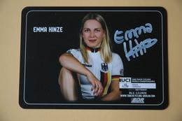 CYCLISME: CYCLISTE : EMMA HINZE - Ciclismo
