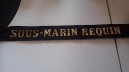 Ruban Bachi Militaria Sous Marin Requin - Ecussons Tissu