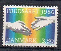 DANEMARK - DENMARK - 1986 - INTERNATIONAL YEAR FOR PEACE - ANNEE INTERNATIONALE DE LA PAIX - - Nuovi