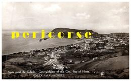 Horta Fayal Azores  Vista Geral Da Cidade - Açores