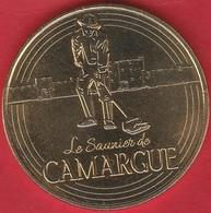 MONNAIE DE PARIS 30 AIGUES-MORTES Cité D'Aigues-Mortes - Le Saunier De Camargue - 2017 - 2017