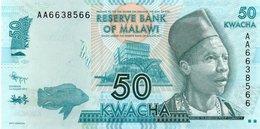 MALAWI 50 KWACHA 2012  P-58a  UNC - Malawi