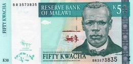 MALAWI 50 KWACHA 2009  P-53d  UNC - Malawi