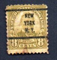 Francobollo USA 8 Cent. Grant 1902-03 - Usato - Gebruikt
