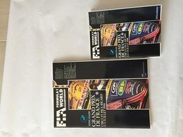 Programme OFFICIEL Et Règlement Grand Prix De France F1 1988 - Automobile - F1