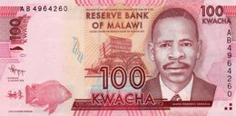 MALAWI 100 KWACHA 2012  P-59a  UNC - Malawi