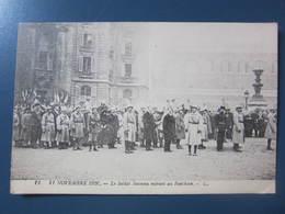 Carte Postale Guerre 1914/18 Le Soldat Inconnu Entrant Au Panthéon - Guerra 1914-18
