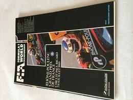 Programme OFFICIEL Du  Grand Prix De FRANCE F1 1989 - Automobile - F1
