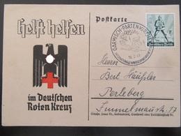 Postkarte Propaganda DRK Rotes Kreuz 1941 - Germany
