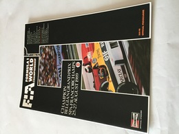 Programme OFFICIEL Du  Grand Prix De BELGIQUE De F1 1989 - Automobile - F1