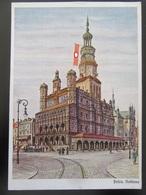 Postkarte Propaganda Posen Poznan Um 1940 - Germany