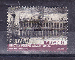 2016 BIBLIOTECA MARCIANA  USATO - 6. 1946-.. Repubblica