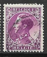 "Belgique N° 391 ° S.M. Léopold III Profil Gauche Type ""Invalides"" - 1934 - 1934-1935 Léopold III"