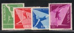 Roumanie 1957 Yvert 1511/14 Neufs** MNH (AB33) - 1948-.... Repubbliche