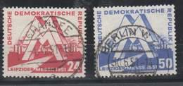 DDR , Nr 282-83 Gestempelt - DDR