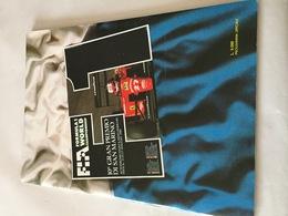 Programme OFFICIEL Du 10e Grand Prix De SAN MARIN De F1 1990 - Automobile - F1