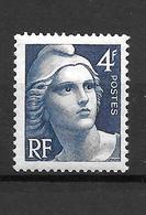 1945 - France -gandon / YT 717 / MNH ** - 1945-54 Marianna Di Gandon