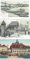 LUCERNE 3 CPA 1906 - LU Lucerne