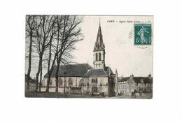 Dept 14 Caen L'église Saint Julien - Caen