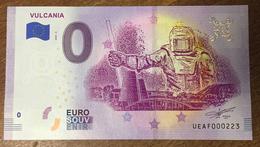63 VULCANIA BILLET 0 EURO SOUVENIR 2020 BANKNOTE BANK NOTE PAPER 0 EURO SCHEIN - Autres