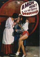 """CPM Humour Homme Assis Avec 2 Femmes """"A Mon âge ça Va Faire Beaucoup"""" - Pin-Ups"""